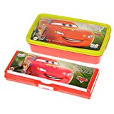 #9: Ski Disney Pixar Cars Lunch Box With Pencil Box for Combo Kids