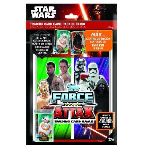 Star Wars - Pack de inicio de cartas (Topps TODFCST)