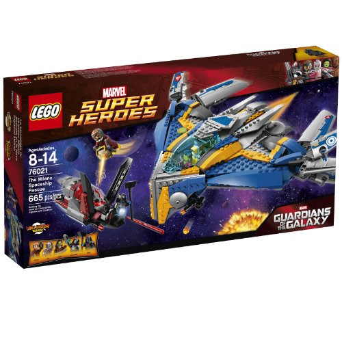 LEGO Superheroes 76021 The Milano Spaceship Rescue Building Set (Lego Rescue Set)
