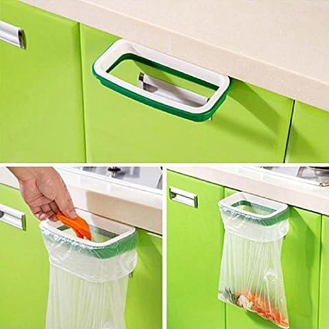Tongshi Hanging armario cocina gabinete puerta posterior del soporte de almacenamiento de basura Bolsas