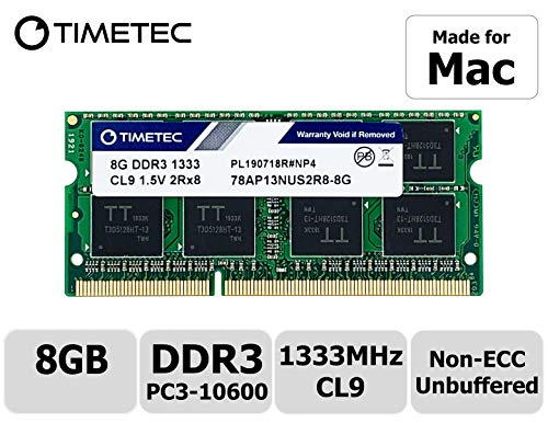 Timetec Hynix IC 8GB DDR3 1333MHz PC3-10600 SODIMM