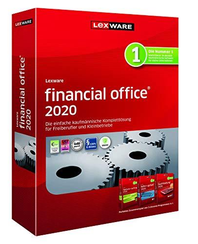 Lexware financial office 2020|basis-Version Minibox (Jahreslizenz)|Einfache kaufmännische Komplett-Lösung für Freiberufler, Selbständige und Kleinunternehmen|Kompatibel mit Windows 7 oder aktueller