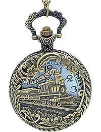4 : New Fashion IC XC NI KA Badge Quartz Pocket Watch Designer Watches Men Watch Women Analog Pendant Necklace...