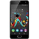 Wiko U Feel Smartphone débloqué 4G (Ecran: 5 pouces - 16 Go - Double SIM - Android) Gris sidéral
