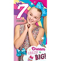 Jojo Siwa Age 7 Birthday Card
