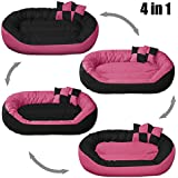 """PetsMaker"""" Deluxe Pet Bed For Dogs And Cats Velvet Ultra-Soft Plush Solid Pet Sleepeer -XXL - B07C15LVL8"""