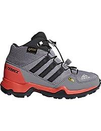 new concept 4878f e06f2 adidas Terrex Mid GTX K, Stivali da Escursionismo Alti Unisex-Bambini, Grigio  Gritre