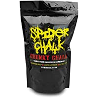 Loose Lifting Chalk, Chunky Texture Climbing Chalk Powder Hand Chalk for Rock Climbing, Gym & Weightlifting 12oz