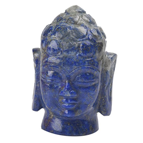 Laboratorio Certificado 421.50 Ct Lapis Lazuli Gemstone Buddha Head Es
