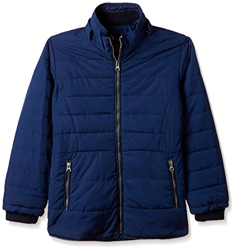 Fort Collins Girls' Regular Fit Synthetic Jacket (69150_Navy_26 (6 - 7 years))