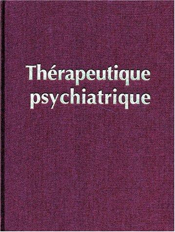 Thérapeutique psychiatrique
