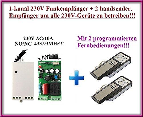 Universal Funkempfänger 230V TR-289