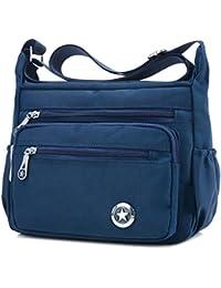 Casual Crossbody Handbags Shoulder Bags for Women Waterproof Nylon Messenger  Bags 99dedbef82