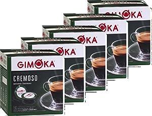 Buy GIMOKA Lavazza A Modo Mio Compatible Capsules Pack of 5, 5 x 16. ITALIAN ESPRESSO by Gimoka