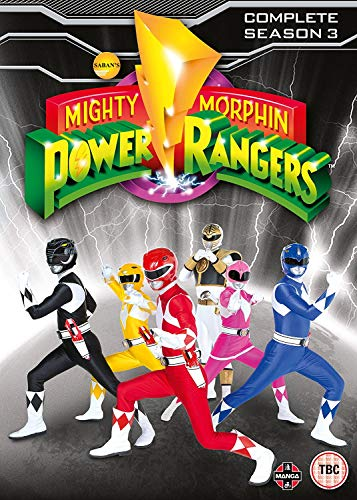 Mighty Morphin Power Rangers Complete Season 3 Collection [4 DVDs] [UK Import] (Power Rangers Dvd-set)