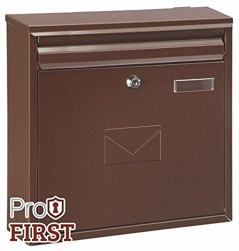 profirst Mail PM 460Boîte aux lettres Marron