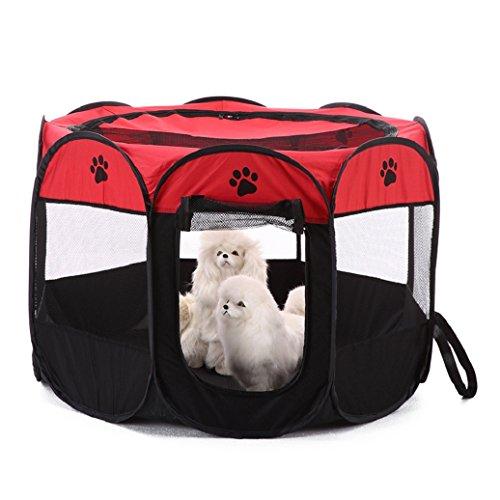 Portable Outdoor zusammenklappbar Octangle Zelt Pet Laufgitter Hunde/Katzen Transportbox Käfig
