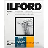 Ilford Multigrade IV Deluxe - Papel para positivado blanco y negro, 13 x 18 cm, 25 hojas, 25M