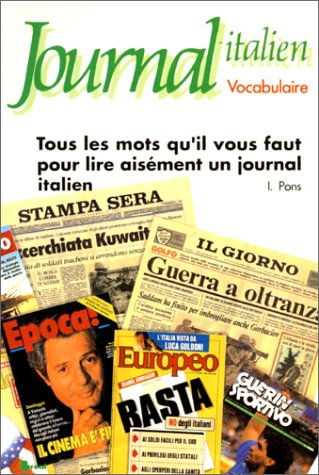 Journal - Italien. Vocabulaire