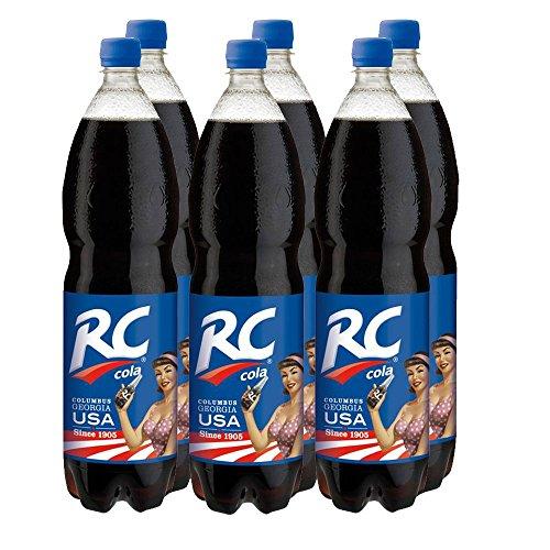 Original RC Cola - koffeinhaltige Limonade im 6er Pack (6 x 1,5 Liter)