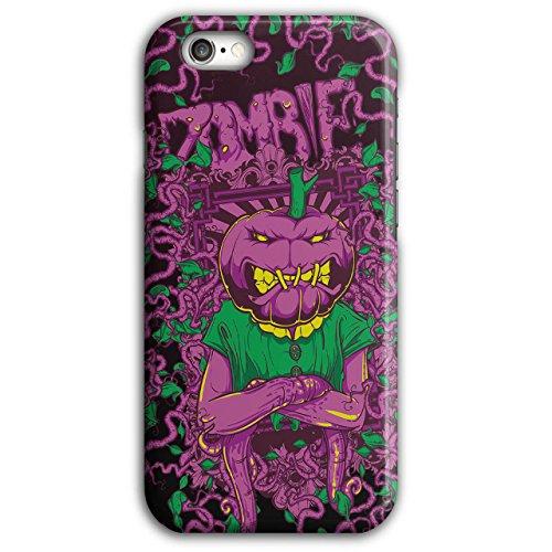 Wellcoda Gemüse Grusel Zombie Hülle für iPhone 6 Plus / 6S Plus Kopf Rutschfeste Hülle - Slim Fit, komfortabler Griff, (Iphone 6 Plus Halloween Kostüm)