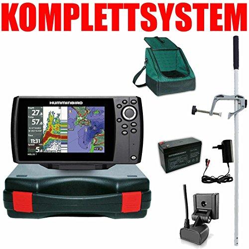 Humminbird Echolot GPS Plotter Portabel Master Edition Plus Helix 7 Chirp GPS G3