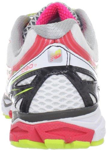 New Balance W1080 B 201521-50 Damen Laufschuhe Diva Pink with Lime & White