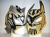 Kalisto Sin Cara Lucha Drachen Wrestling Tag Team Kinder Reißverschluss Masken