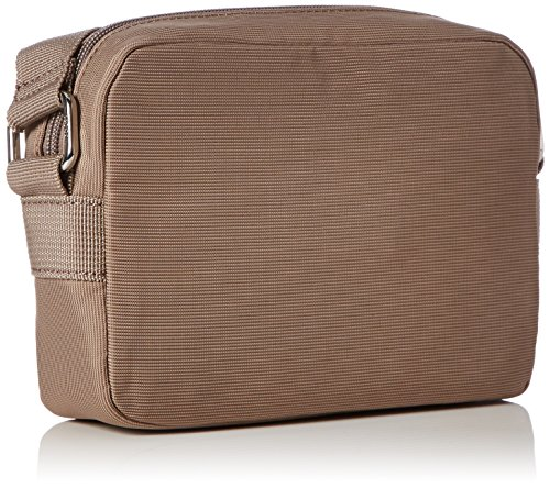 JOOP! Damen Nylon Naviga Cloe Shoulderbag Shz Schultertaschen, 21x15x6 cm Beige (752)