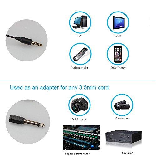 MAONO Lavalier Mikrofon, Freisprech Ansteck Revers Mikrofon mit omnidirektionalem Kondensator für Kamera, DSLR, iPhone, Android, Samsung, Sony, PC, Laptop (236 in)