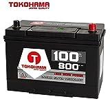 Tokohama Asia Japan Autobatterie 12V 100AH 800A/EN + Plus Pol Rechts 60032
