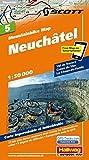 MTB-Karte 05 Neuchâtel 1:50.000: Mountainbike Map (Hallwag Mountainbike-Karten)