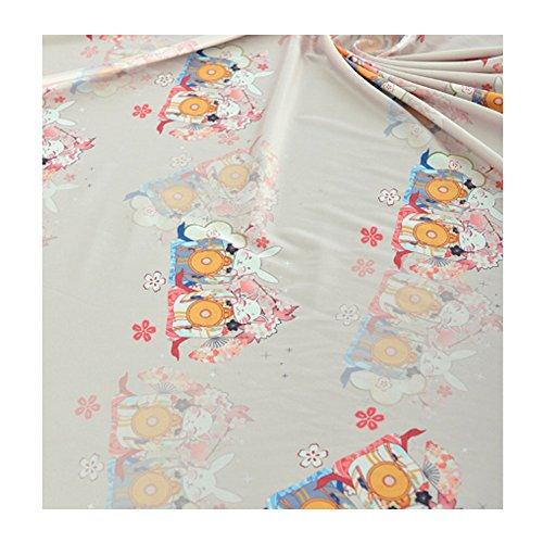 Zum Verkauf Handgemachte Kostüm - East Utopia Japanischen Stil Digital gedruckt Rock Hanfu Kleidung handgemachte DIY Tuch Stoff