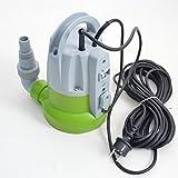 Flachsauger Tauchpumpe Flachsaugerpumpe bis 2-3 mm Schmutzwasserpumpe 7200l/h