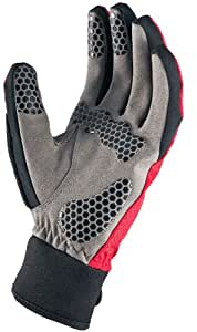 SealSkinz Men's All Weather Cycle Gloves - Red, Medium (Old Version)