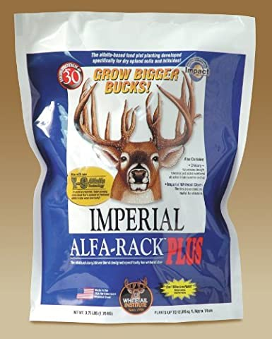 Whitetail Institute Imperial Alfa-Rack Plus Food Plot Seed (Spring and