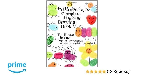 Ed Emberley\'s Complete Funprint Drawing Book: Amazon.de: Ed Emberley ...