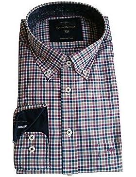 FYNCH-HATTON - Camisa casual - con botones - Manga Larga - para hombre