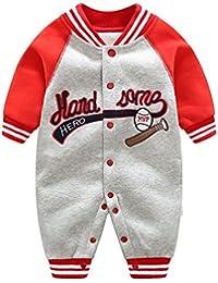Unisex bebé Romper mono-pieza trajes de abrigo - Mxssi de invierno abrigo con capucha Niño traje de invierno traje de nieve Hoodies 0-12 meses