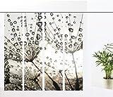 gardinen-for-life Flächenvorhang Dream silver - 4er - Serie, modernes Flächenvorhang Set 4tlg, jew. Gr.60x260 cm