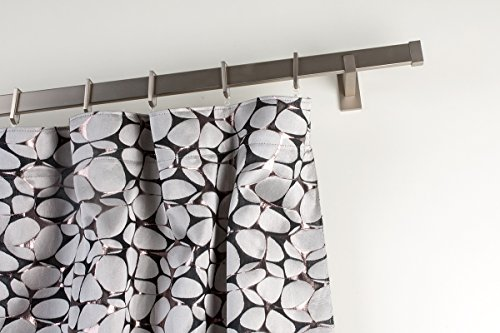 bastone-per-tende-31x12-mm-rettangolare-l-140-cm-in-acciaio-satinato-completo