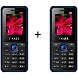 I KALL K20 1.8 Inch Display Set Of Two Mobile - Blue
