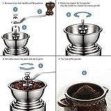 Kaffee Handmühle mit Keramikmahlwerk