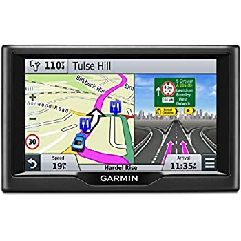 Garmin Nuvi LM  Inch Satellite Navigation With UK And Ireland - Gps navigation uk and us maps