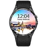 Fangle KW88 Smart Watch Android 5.1 3G WiFi BT Google Voice GPS SIM