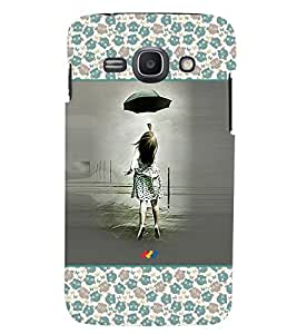 Fuson 3D Printed Girly Designer back case cover for Samsung Galaxy Ace 3 - D4278