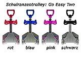 Go Easy Schulranzen Trolley TWO, 58x30x15cm, höhenverstellbar, schwarz (1 Stück)