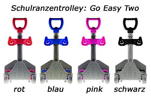 Go Easy Schulranzen Trolley TWO, 58x30x15cm, höhenverstellbar, schwarz (1 Stück) (Trolley Go)