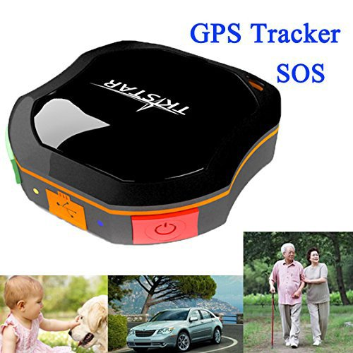 2014 Tkstar miniature Waterproof Real Time Auto GPS Hidden SPY Tracking Device by SMS Google Maps Tracking for youngsters Elderly Cars Caravan Dog Catmotorcycle Motorbike Pets significantly more by Free Downloadable App for Iphone Android Users Accessories