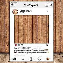 setecientosgramos Photocall Instagram | 70x100 | Ventana Instagram | Marco Instagram | PhotoBooth Instagram (Cartón